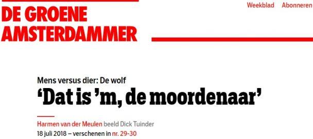 De wolf is terug in Nederland, maar schapenboer Jantinus de Groote is daar allesbehalve blij mee. Een interview.