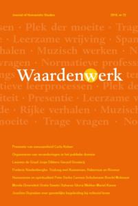 In wetenschappelijk tijdschrift Waardenwerk reflecteerde ik op de verhouding tussen filosofie en sociale wetenschap binnen de Universiteit voor Humanistiek.